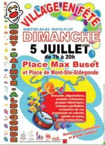 Mont-Ste-Aldegonde en fête 2015