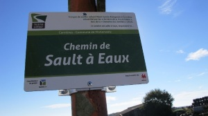 Plaque nominative Sault-a-eaux