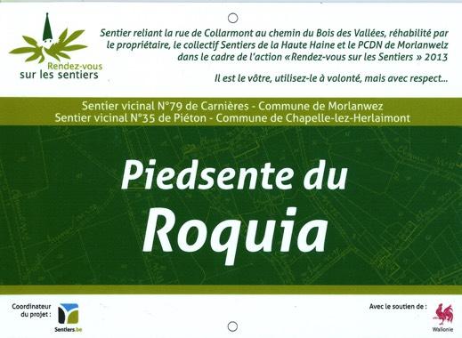 Carnières-Plaque-Roquia